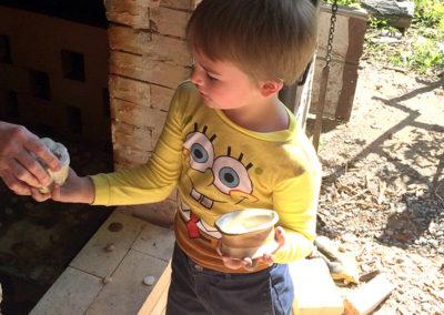 Hayden gets his wood fired treasures