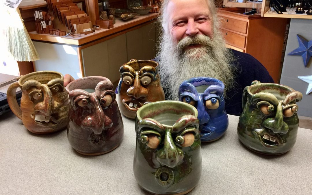 Face Mug Delivery to the Folk School